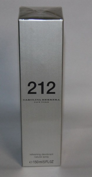 Carolina Herrera 212 refreshing Deodorant Spray 150 ml