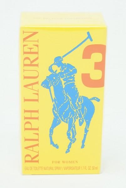 Ralph Lauren 50ml EdT The Big Pony Collection for Women No.3 gelb