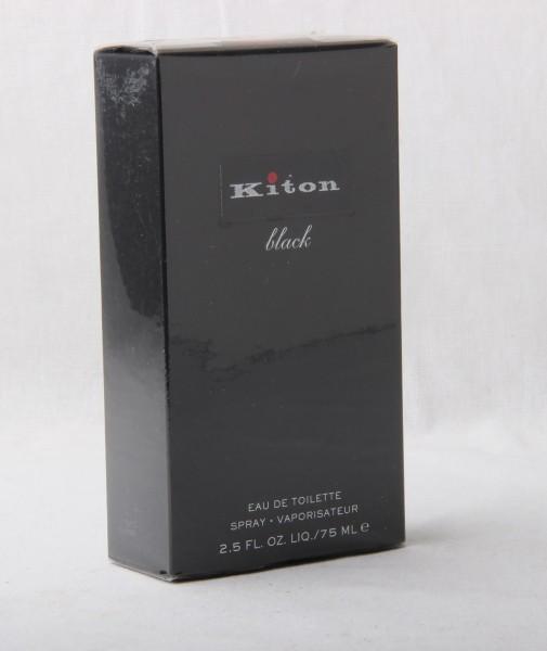 KITON BLACK Eau de Toilette NATURAL SPRAY 75ml