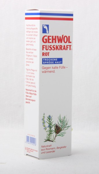 GEHWOL FUSSKRAFT ROT 125ml