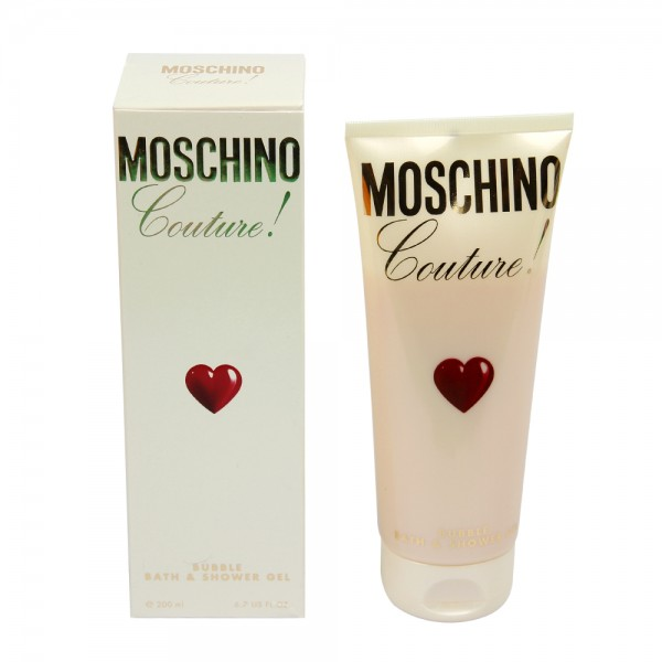 Moschino Couture 200 ml Bubble Bath and Shower Gel