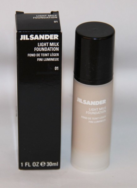 Jil Sander Light Milk Foundation 01 Finish 30ml Make up
