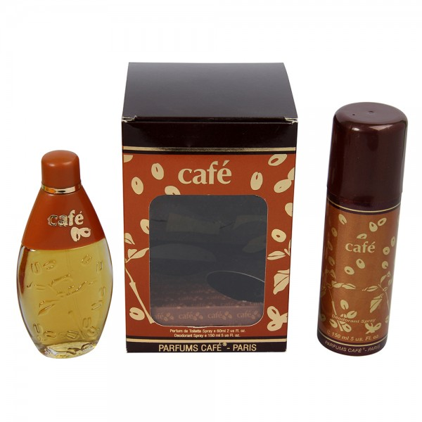 CAFE-PARIS CAFE 60ML PARFUM DE TOILETTE SPRAY + Deodorant spray