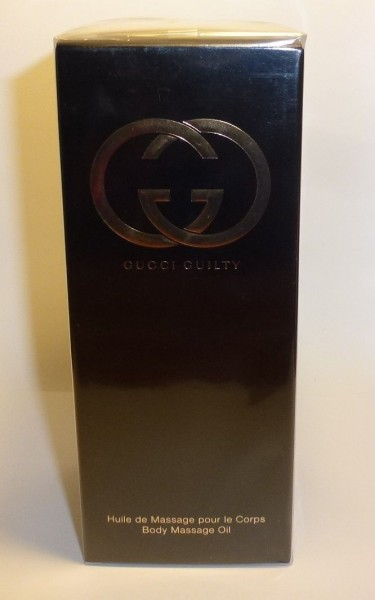 GUCCI GUILTY BODY MASSAGE OIL 100 ml