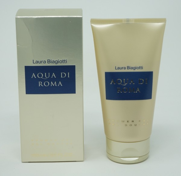 LAURA BIAGIOTTI AQUA DI ROMA DONNA 150ml SHOWER GEL